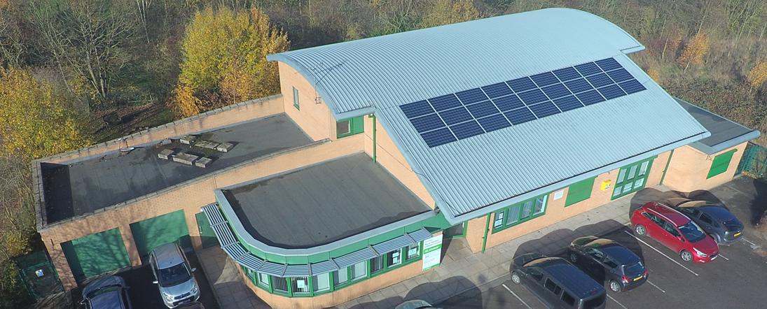 Tin Hat Solar Panels